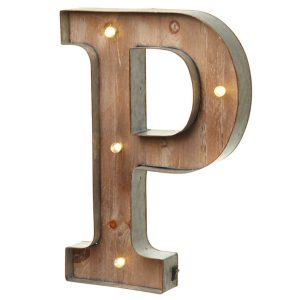 Cheerful Carnival Style LED Light Box Pair Of Metal Hooks For Easy Hanging